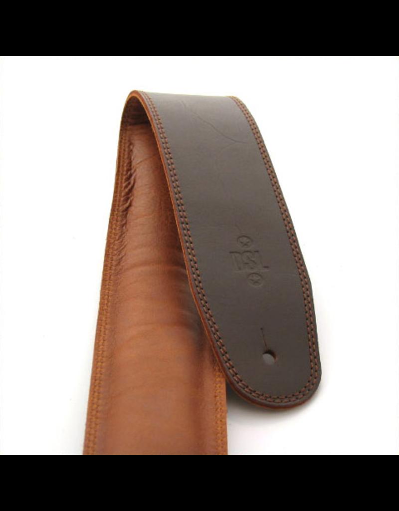 "DSL DSL 2.5"" Padded Garment Saddle Brown"