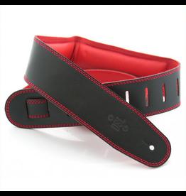 """DSL DSL 2.5"""" Padded Garment Black/Red,"""