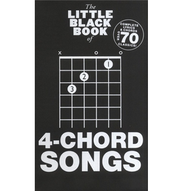 Little Black Books Little Black Books 4-Chord Songs