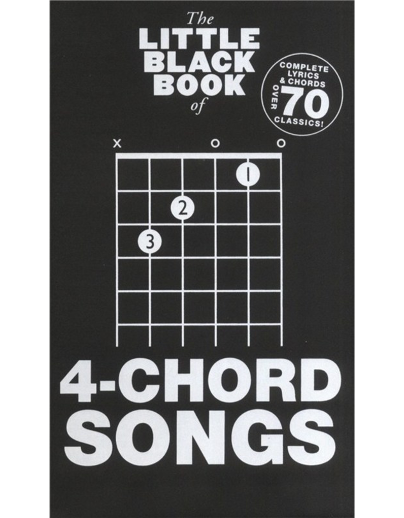 Little Black Books 4-Chord Songs
