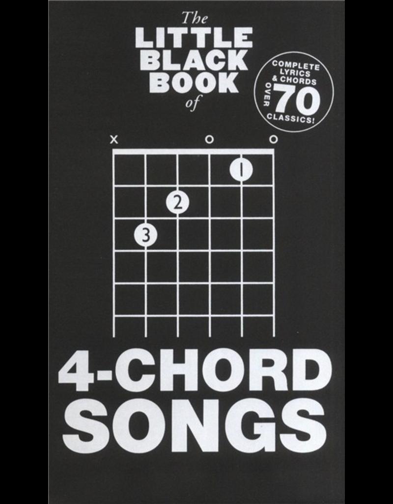 Little Black Books Little Black Books 4-Chord Songs
