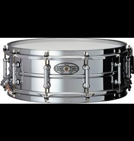"Pearl Pearl SensiTone Beeded Steel Snare 14"" x 5"""