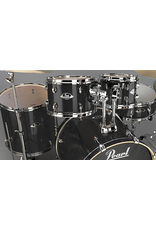 """Pearl Export Laquer Black Smoke 22"""" Fusion+ Drumset"""