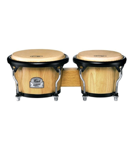 "Pearl Primero Pro Bongos - 7"" and 8.5"" - Natural"