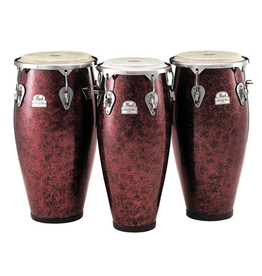 Pearl Pearl Primero Pro Conga Set - Red Marble