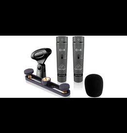 Behringer 2 C4 Condenser Microphones (matched pair)