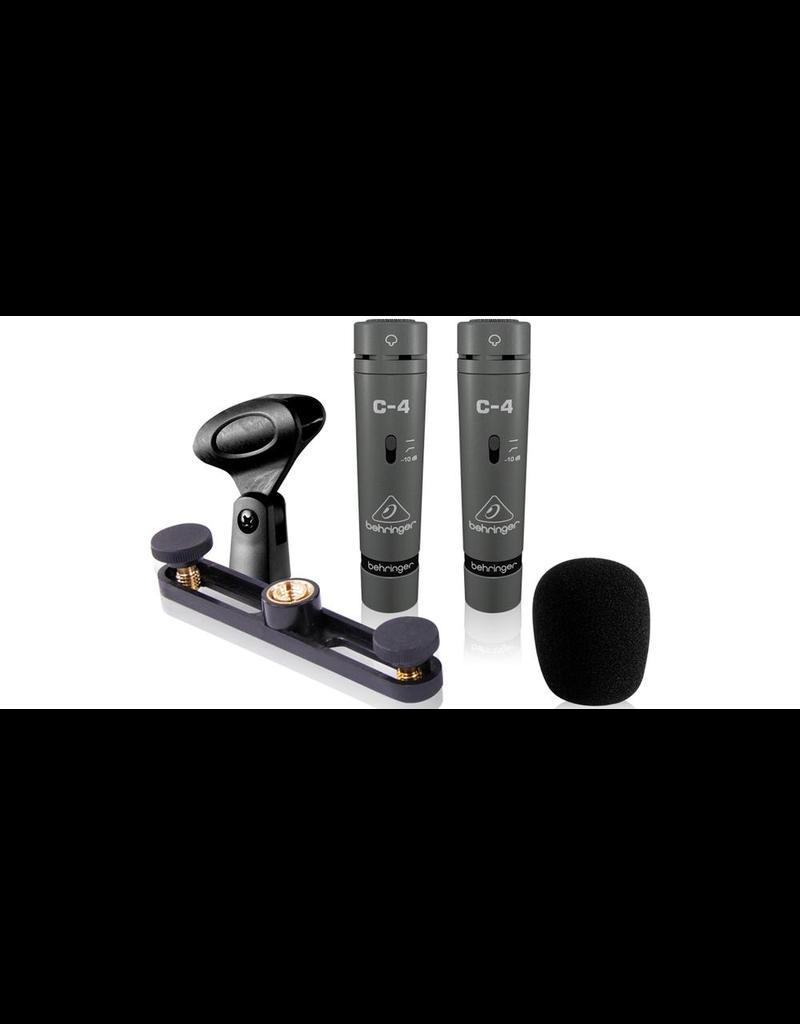 Behringer Behringer 2 C4 Condenser Microphones (matched pair)