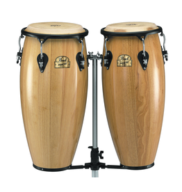 "Pearl Primero Conga Set - 10"" x 28"" and 11"" x 28"" - Natural"