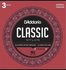 Daddario 3 Pack Daddario Nylon Classical Normal