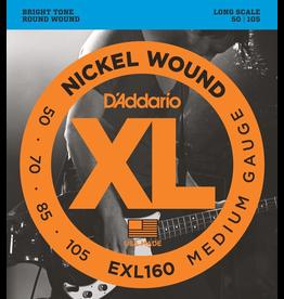 Daddario EXL160 Medium, 50-105 medium scale