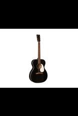 Martin 00017E: Auditorium Acoustic Black Smoke w/Matrix VT