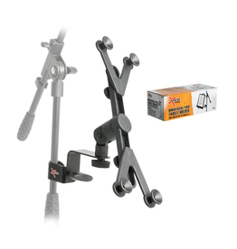 Xtreme AP25 iPad and Universal Tablet Holder for Mic Stand