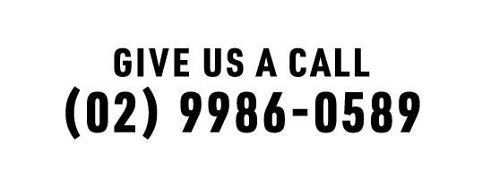 Call us - (02) 9986-0589