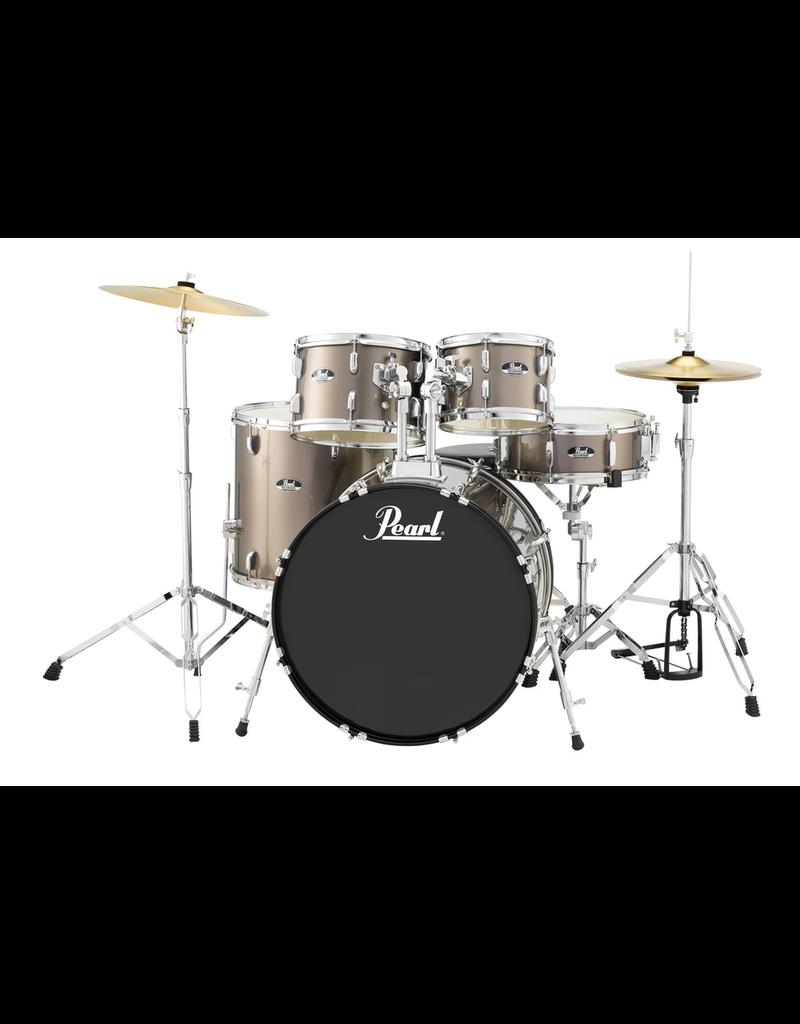"Pearl Pearl Roadshow 18"" 4-Pcs Drum Kit Bronze Metallic"