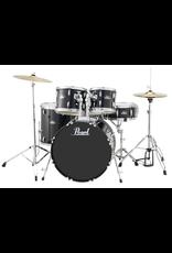"Pearl Pearl Roadshow 18"" 4-Pcs Drum Kit Jet Black"