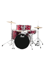 "Pearl Pearl Roadshow 18"" 4-Pcs Drum Kit Red Wine"