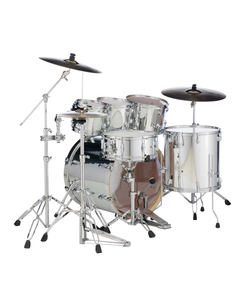 """Pearl Pearl Exx Plus  22"""" Fusion Plus Kit Mirror Chrome"""