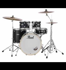 """Pearl Pearl Exx Plus  22"""" Fusion Plus Kit Jet Black"""