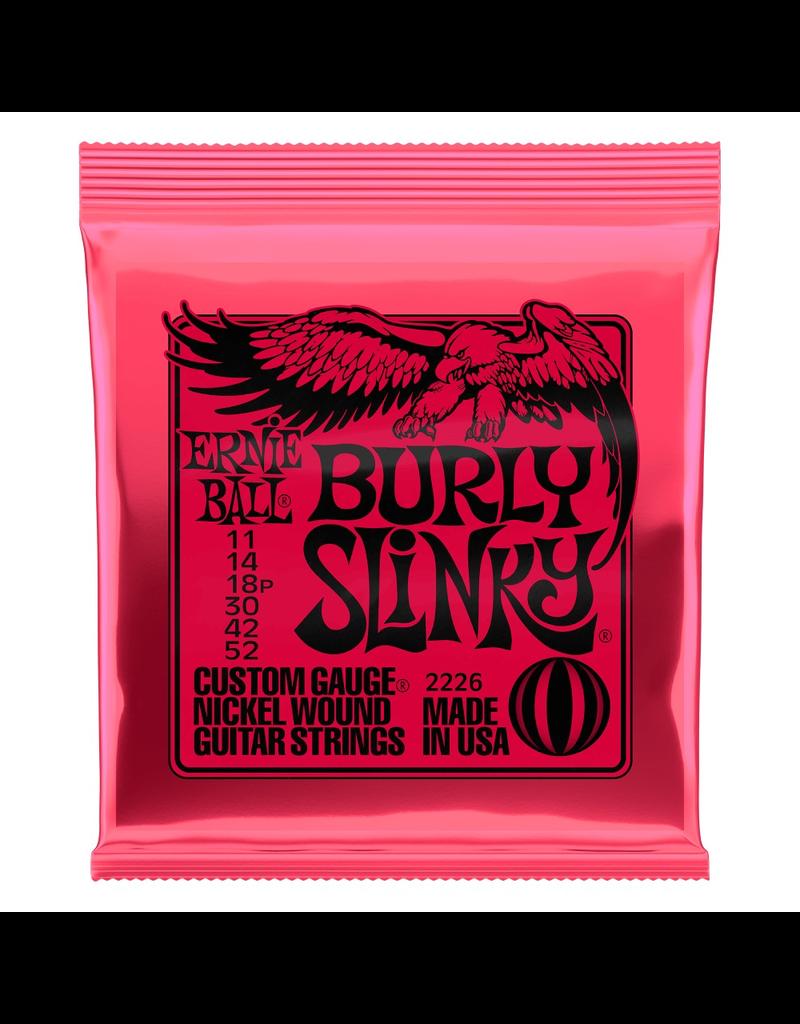Ernie Ball Ernie Ball Burly Slinky Nickel wound Electric Guitar Strings - 11-52 Gauge