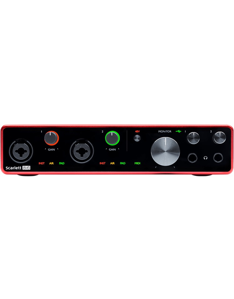 Focusrite Focusrite Scarlett 8I6 Gen3 8-in/6-OUT USB Audio Interface