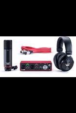 Focusrite Scarlett 2I2 Gen3 with condenser Mic and Headphones