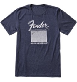 Fender Fender® Deluxe Reverb® T-Shirt, Blue, L