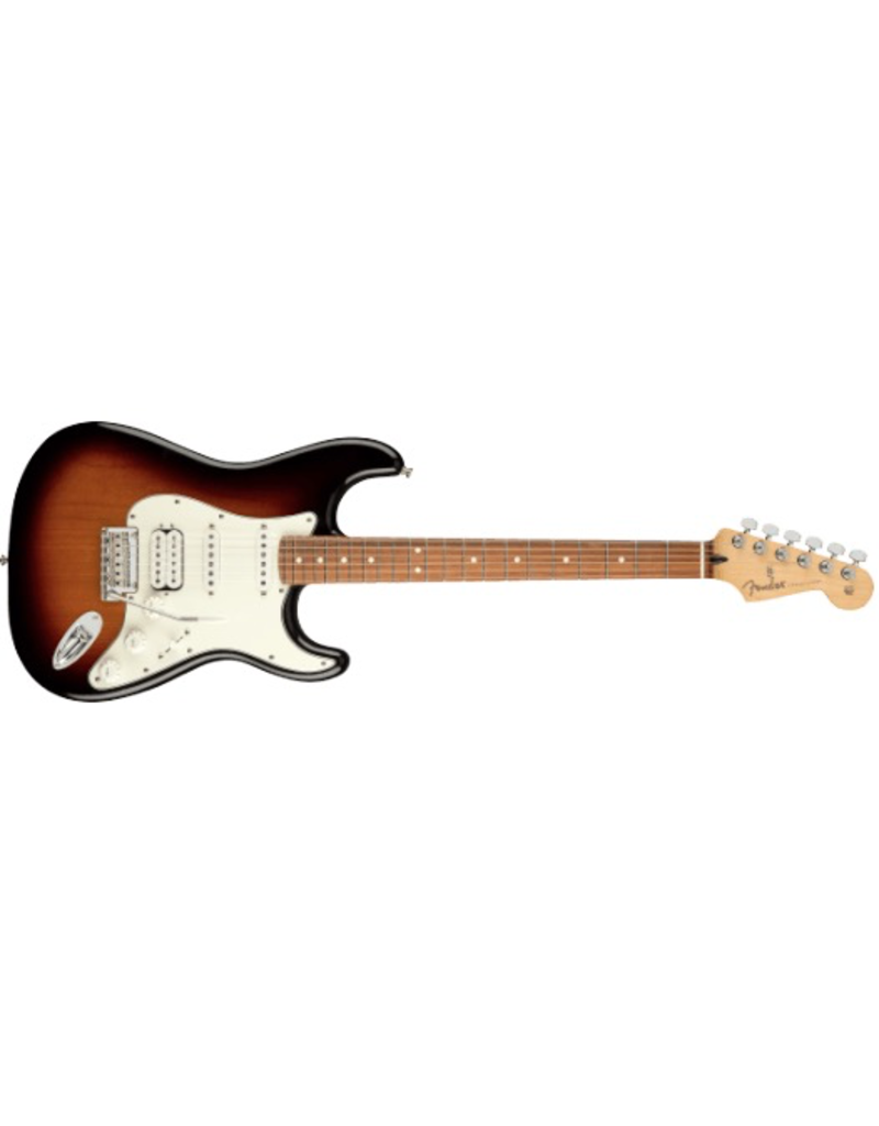 Fender Fender Player Stratocaster HSS, Pau Ferro Fingerboard, 3-Color Sunburst