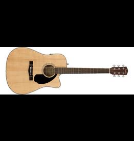Fender Fender CD-60SCE Dreadnought, Walnut Fingerboard, Natural