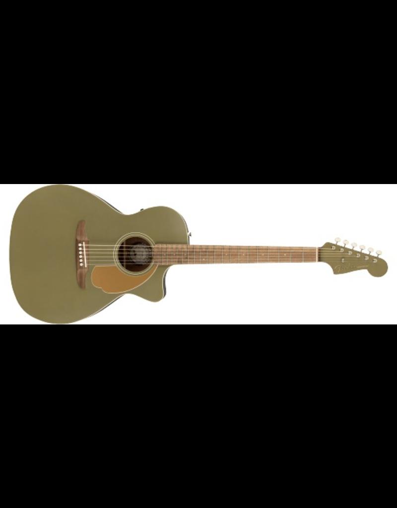 Fender Newporter Player, Walnut Fingerboard, Olive Satin