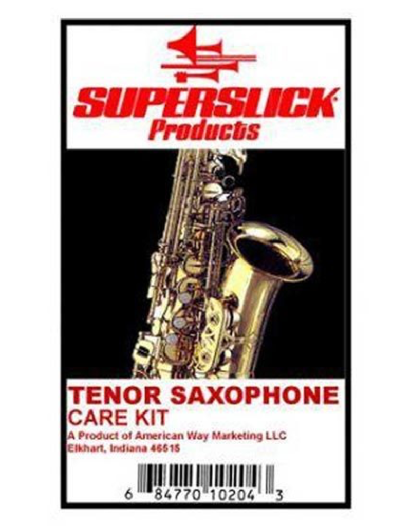 Superslick Superslick Tenor Sax Care Kit