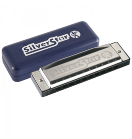 Hohner Silver Star Harmonica - A