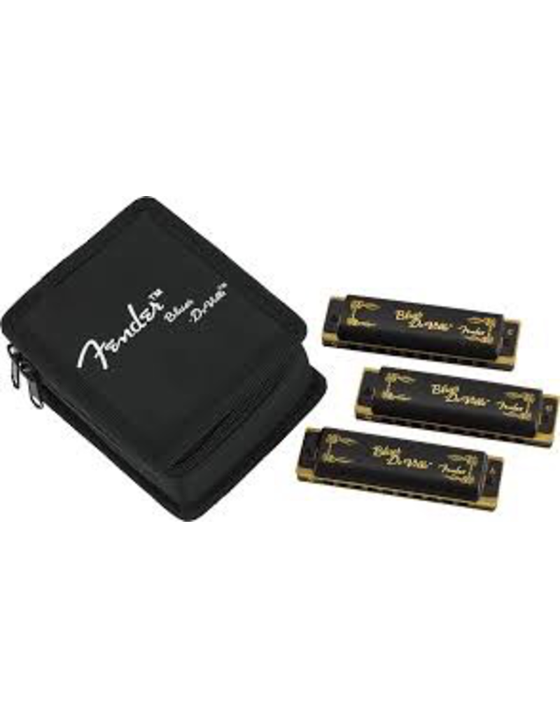 Fender Fender Blues Deville Harmonica Set (C, G, A) - Black