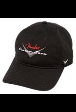 Fender Fender® Custom Shop Baseball Hat, Black, One Size Fits Most