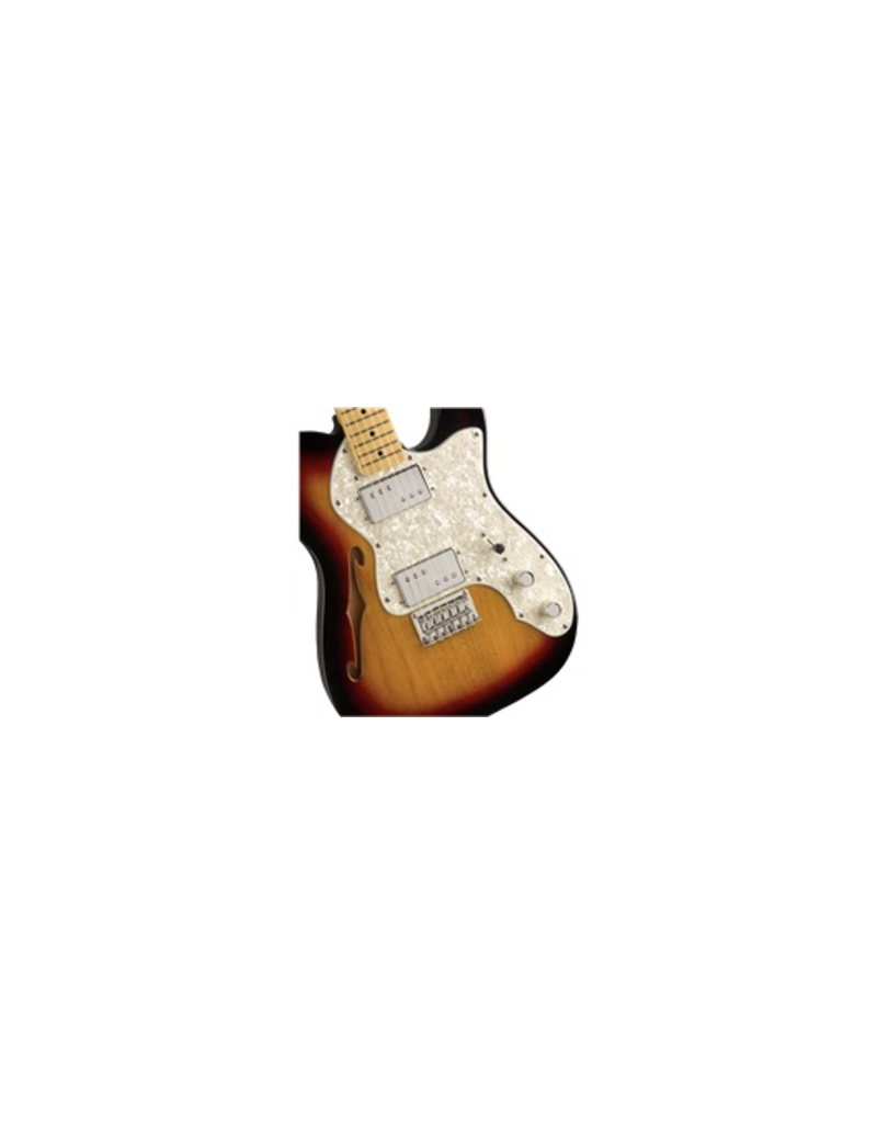 Squier Classic Vibe '70s Telecaster® Thinline 3-Color Sunburst