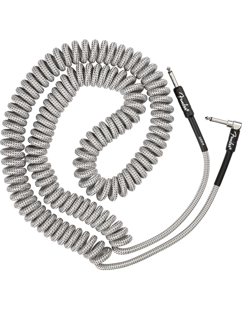Fender Fender Professional Coil Cable, 30', White Tweed