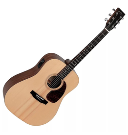 Sigma Sigma DME+ Solid Sitka Spruce Dreadnought with Pick up