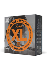 Daddario Nickel WoundStrings10 to 46 Dadd 10 Sets Of Exl110s