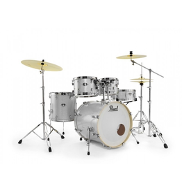 "Pearl Pearl Export Arctic Sparkle 22"" Fusion Drumset - Ready Set Go"