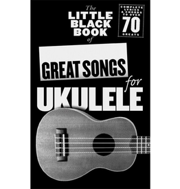 Little Black Books LBB of Great Songs for Ukulele