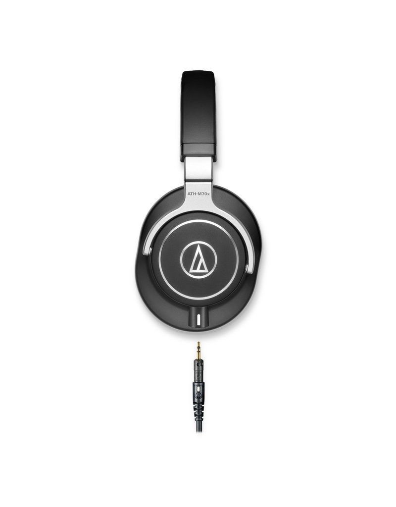 Audio Technica Audio Technica M70X Heaphones Black