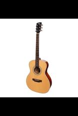 Saga Saga '850 Series' Solid Spruce Top Acoustic-Electric Small-Body Guitar (Natural Gloss)
