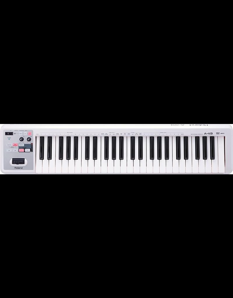 Roland Roland A49 USB MIDI Controller (White)