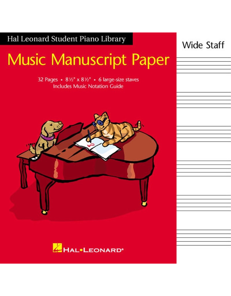 Hal Leonard Student Piano Manuscript