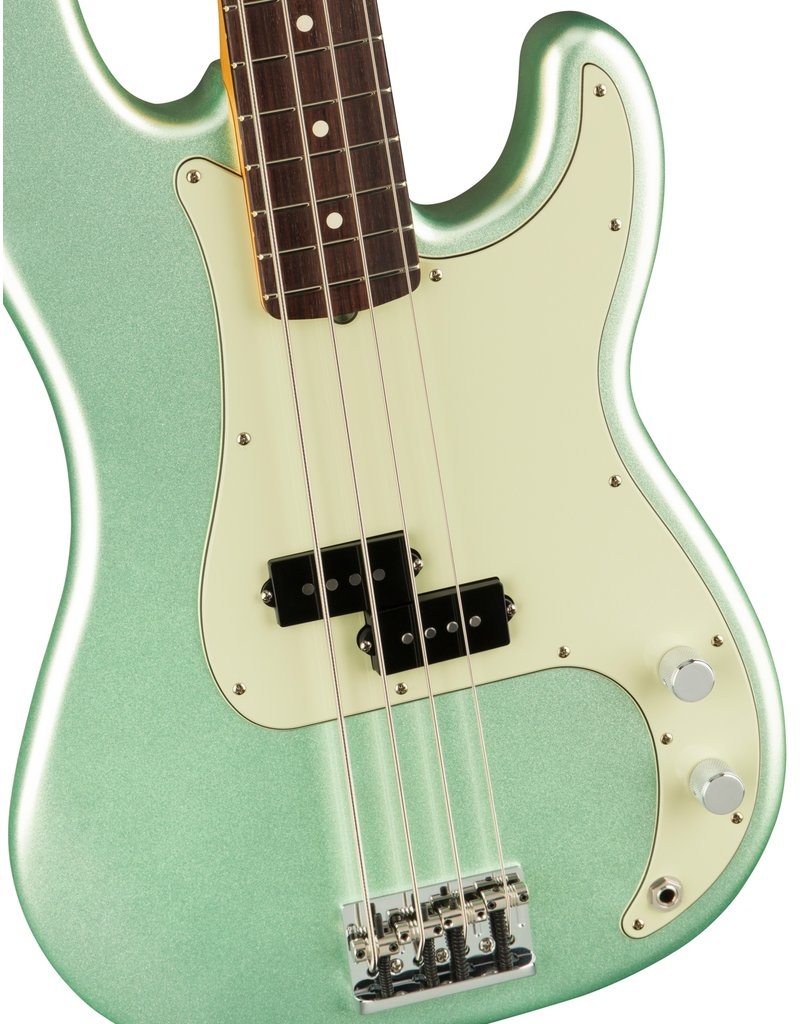 Fender American Professional II Precision Bass®, Rosewood Fingerboard, Mystic Surf Green