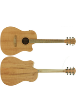 Cole Clark Cole Clark FL1 Southern Silky Oak cutaway with pick up