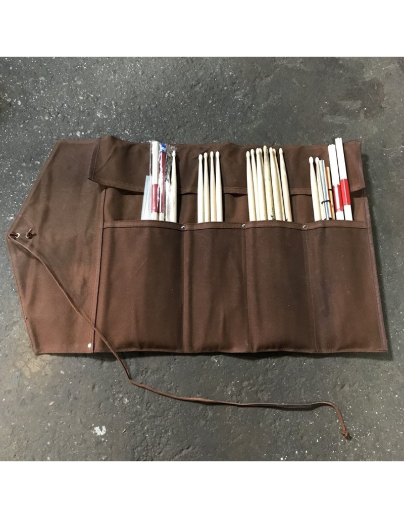 TACKLE TACKLE Roll-Up Stick Bag - Brown