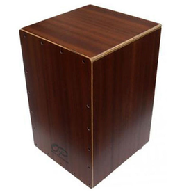 Opus Percussion Wooden Cajon in Sapele with Deluxe Carry Bag