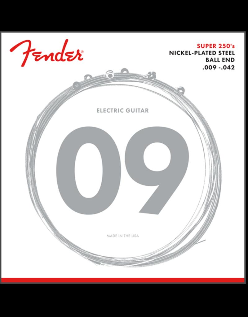 Fender Super 250's 9-42