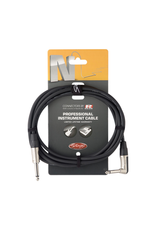 Stagg Stagg Instrument cable, jack/jack (m/m, straight/L-shaped), 6 m (20')