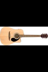 Fender FA-125CE Dreadnought, Walnut Fingerboard, Natural